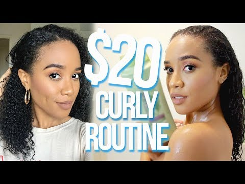 $20 Curly Hair Routine 💸 | Start To Finish!