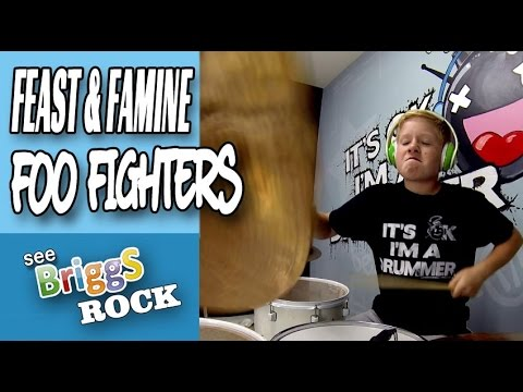 Foo Fighters The Feast and The Famine Drum Cover Briggs
