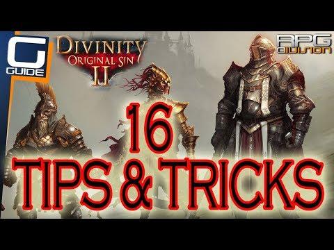 DIVINITY ORIGINAL SIN 2 - 16 Essential Tips for Beginners