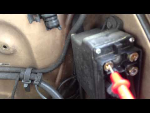 Quick Glow plug relay check
