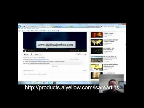 AiYellow (The Internet Yellow pages) - How to Make an Advert - By Tiago Martins