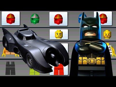 LEGO BATMAN & BATMOBILE ✔ BUILD FLYING CAR, HELICOPTER -  LEGO JUNIORS CREATE & CRUISE   LEGO Games