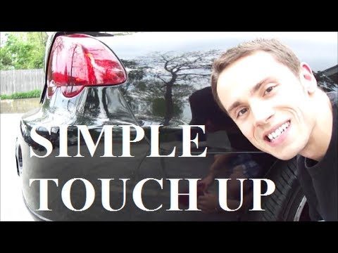 How to Apply Touch Up Paint