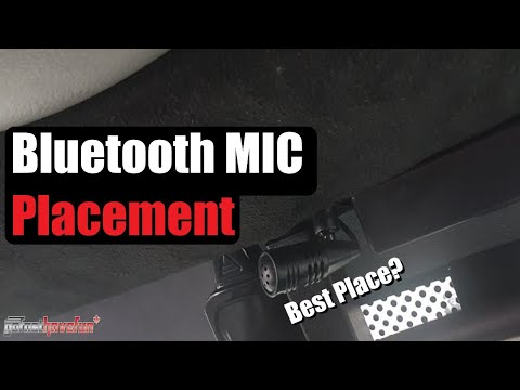 Bluetooth Microphone / Mic Installation and Placement