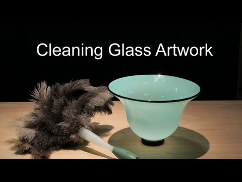 How to Clean Glass Artwork - Hand blown Glass Care