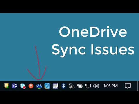 Fix for OneDrive Sync Issues