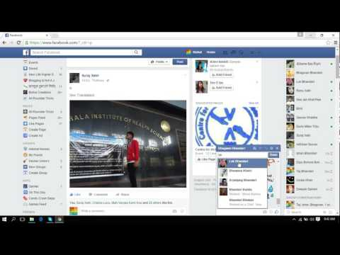How To Create Facebook group Chat in 2015/16
