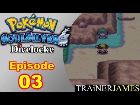 Battling Trainers All Down Route 32! | Ep. 03 - Pokemon SoulSilver Dicelocke Nuzlocke