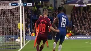 Chelsea vs Barcelona || Highlight Cup c1 2018