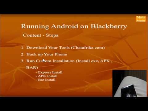 Run Android on Blackberry (Backup & Restore) Passport