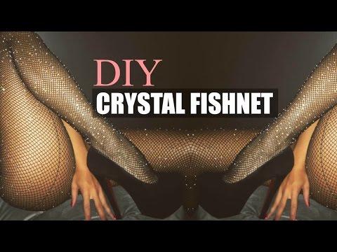 DIY ACCESSORY | INSTAGRAM TREND KYLIE JENNER CRYSTAL FISHNET