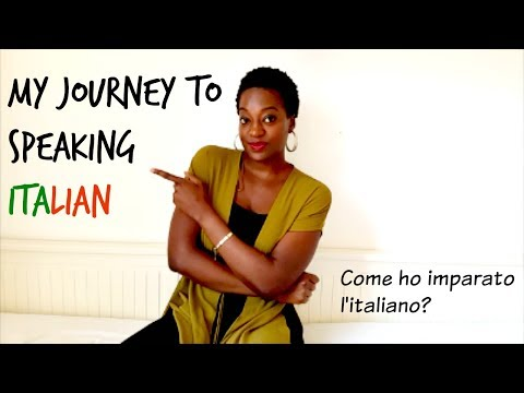 My Journey To Speaking Italian   How I learned Italian