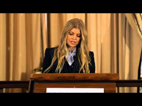 Avon Foundation Global Ambassador Fergie Helps Launch New Justice Institute on Gender-Based Violence