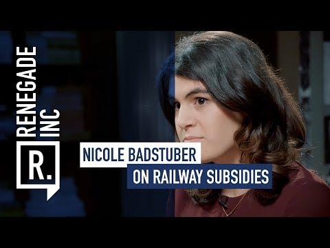 NICOLE BADSTUBER on Railway Subsidies