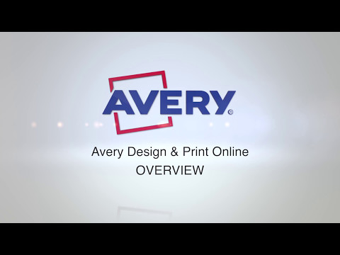 Avery Design & Print - An Introduction
