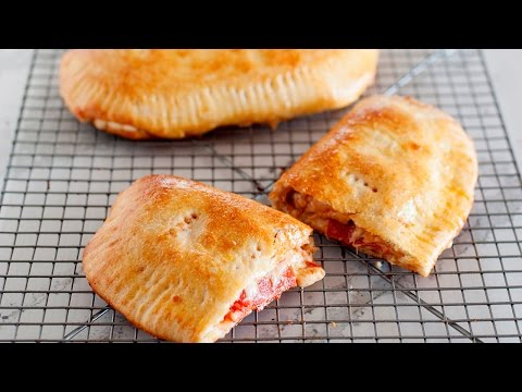 Easy Pizza Pockets | Homemade Calzones