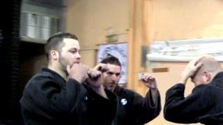 Ninjutsu against multiple attackers - Yossi Sheriff, AKBAN Academy
