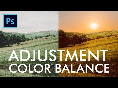 Color Balance to match tone of images  in Adobe Photoshop Urdu / Hindi