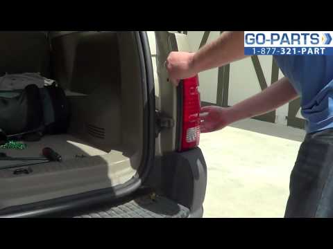 Replace 2001-2005 Ford Explorer Tail Light / Bulb, How to Change Install 2002 2003 2004 FO2801152