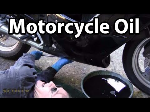 How To Change Engine Oil In Your Motorcycle