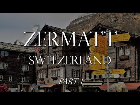 Zermatt Switzerland pt 1 of 2: Train from Tasch & Klein Matterhorn Lift