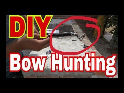 DIY How to make a Bowfishing arrow/Arrow and Arrow head.