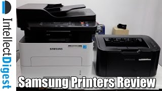Samsung Make For India Printers M2876ND & ML-1676P Review | Intellect Digest