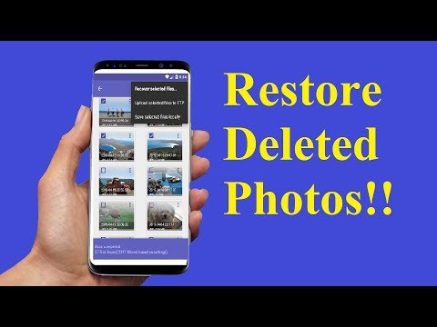 How to Recover Deleted Photos from Android Phones!!