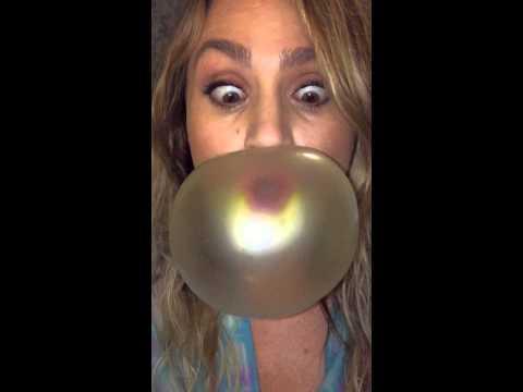 I like big bubbles iPhone slowmo