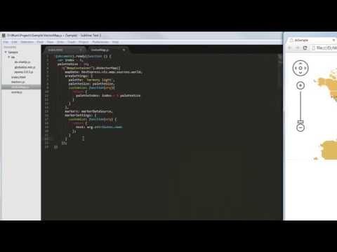 DevExpress DevExtreme: HTML5 Vector Map