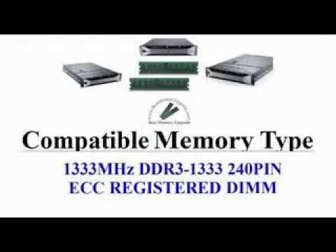 Compatible RAM Memory Upgrade Specifications of Dell PowerVault NX3100 Server Computer System DDR3