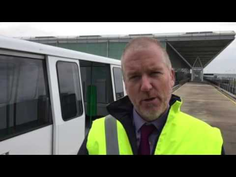 New look for Stansted's driverless trains