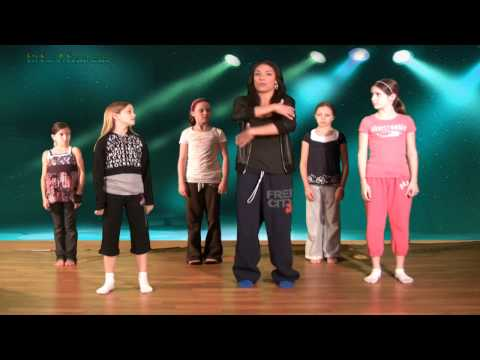 Hip Hop Dance Lesson Online with Caroline - Ball, Change, Step Hip Hop Dancing Lessons