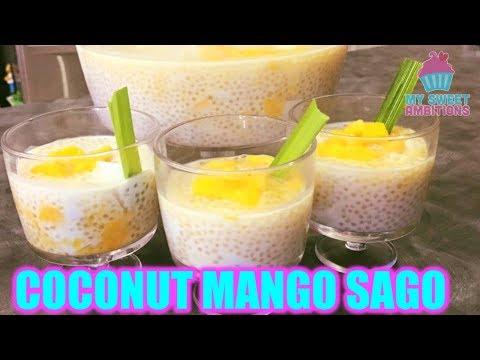 Coconut Mango Sago