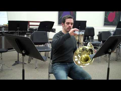 Holding Your French Horn Properly