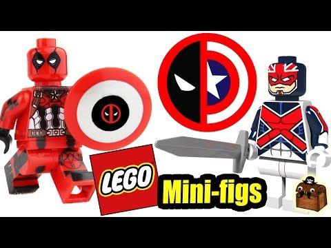 LEGO Deadpool Custom Minifigures 2018