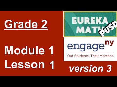 Eureka Math Grade 2 Module 1 Lesson 1