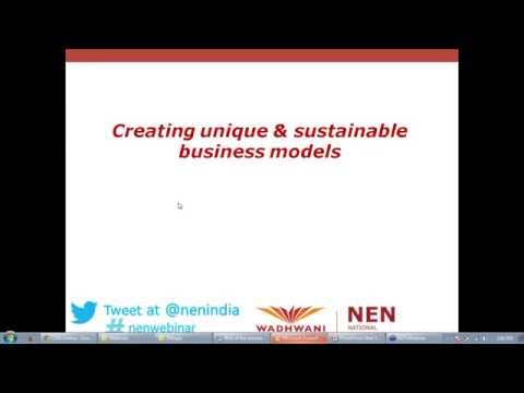 NEN Webinar#81 Creating unique and sustainable business models