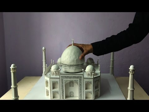 LAST VIDEO | Finishing things up | How to make a model of Taj Mahal | Architecture Model Making