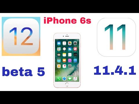 iOS 12 beta 5 vs iOS 11.4.1 speed test on iPhone 6s | iSuperTech