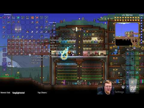 Terraria Expert Mode (World From Main Channel) • Starting the Metal Gear Tower • (STREAM ARCHIVE)