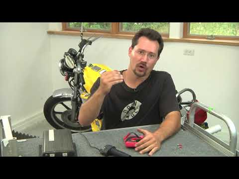 11 Build Your Own Electric Motorcycle - FULL - 11 Throttle