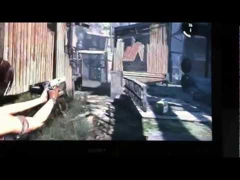 Tomb raider action gameplay