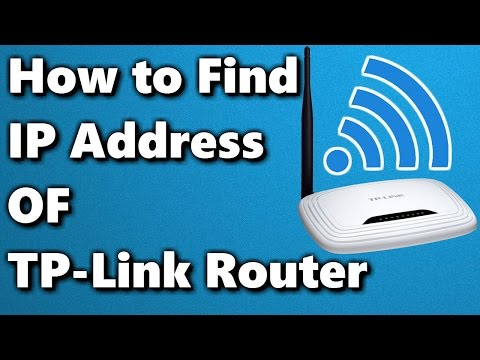 How to Find IP Address of TP-Link Router ✔