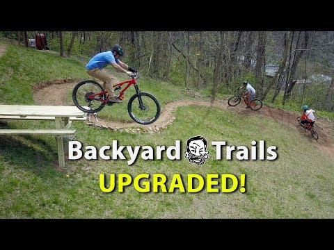Backyard MTB Trails with