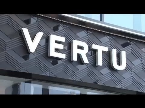 VERTU Luxury Cell Phones - Factory Tour, Range, Features, Exclusive Hand Made in UK