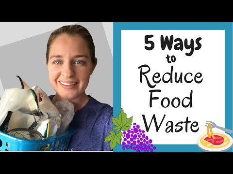 5 Tips for Wasting Less Food - Reduce Food Waste to Save on the Grocery Budget!