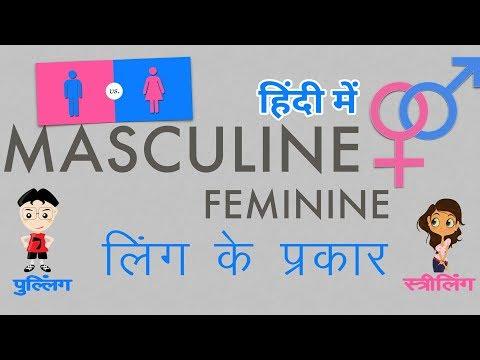 Masculine Words in Hindi | How to find Masculine in Hindi?| पहचाने पुल्लिंग शब्द हिंदी भाषा में