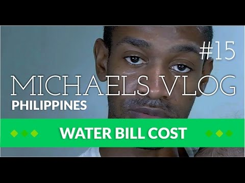 Davao City Cost Of Living In The Philippines Unreal Low Cost Water Bill: Michaels Vlog 15