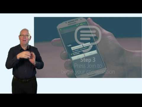 NGT Lite – Android making a call, BSL (3 of 4)